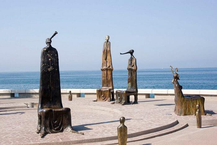 Spend your Vacation in Puerto Vallarta Malecon sculptures