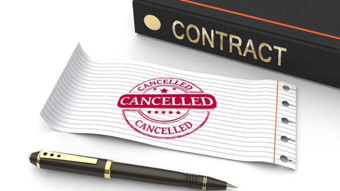 Timeshare Contracts and Cancellation