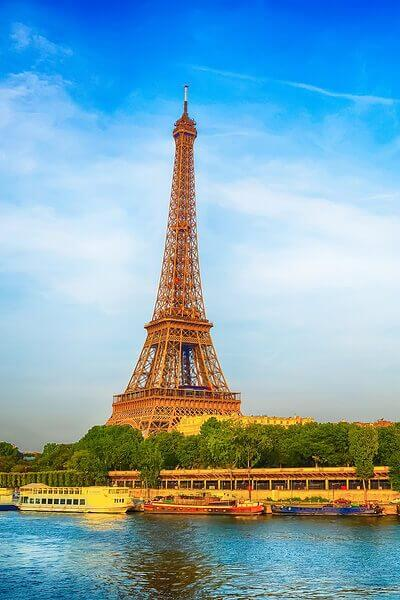 Eiffel Tower at Paris