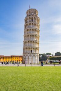 The Tower Of Pisa, Italy.